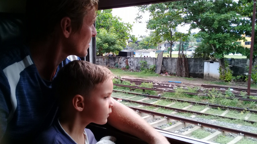 Ирина Глушкова в путешествии с сыном