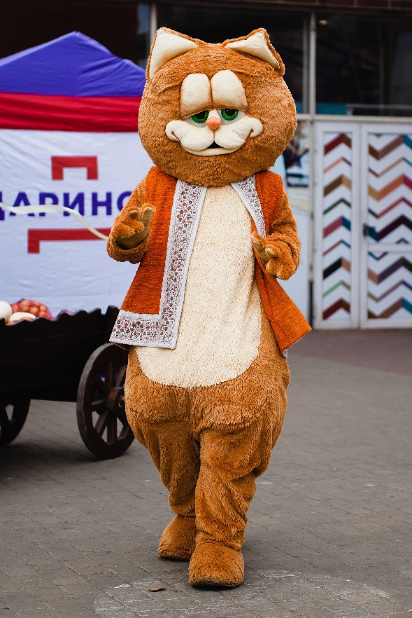 Пан Коцький на Дарынке на День Независимости