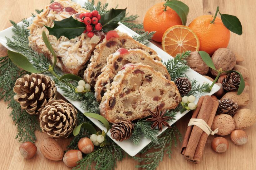 штоллен рождественский кекс