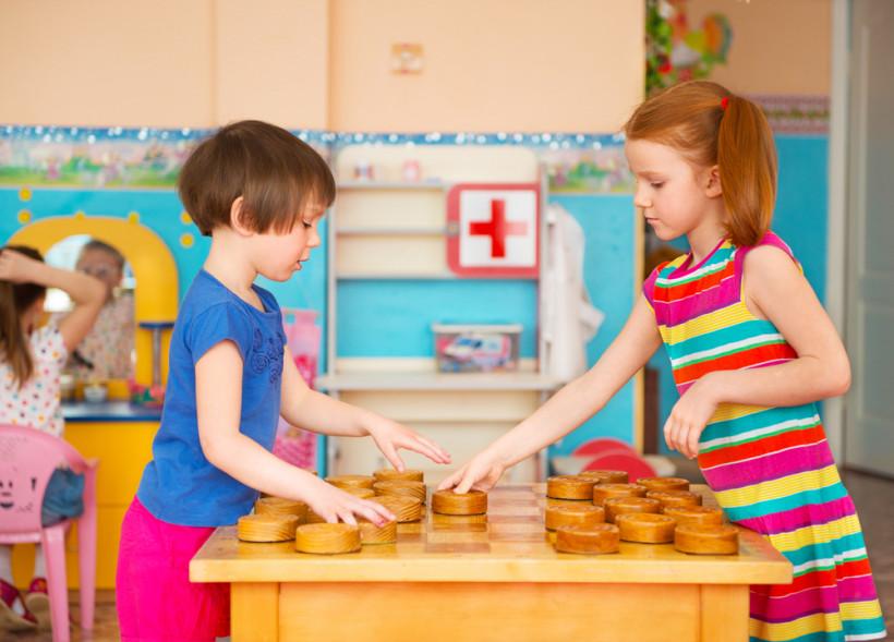 шашки для детей