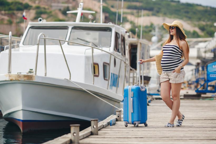 безопасность беременной на пляже