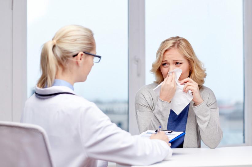 грипп простуда визит к доктору
