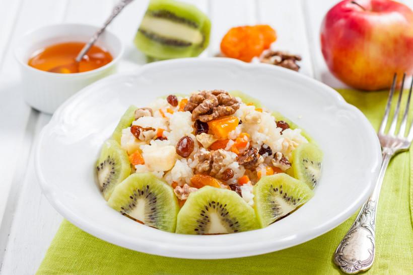 кутья с фруктами