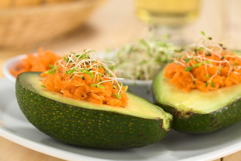 Морква і авокадо
