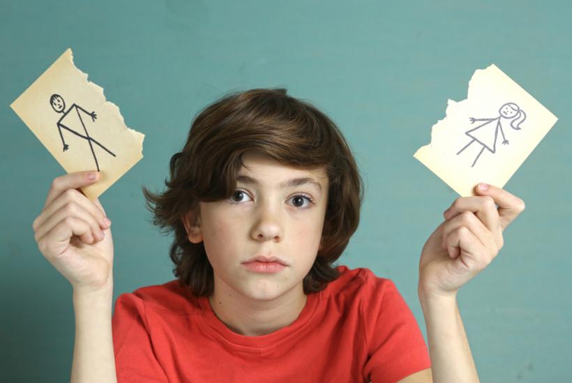 Мальчик после развода родителей