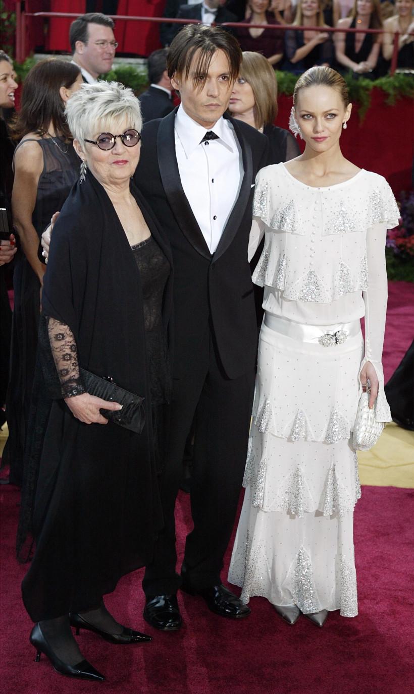 Джонни Депп с мамой