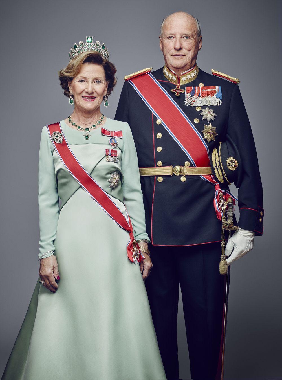 король Харольд і королева Соня