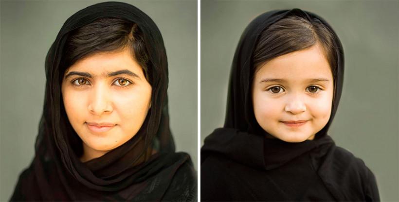 Малала и Скаут Ларсон