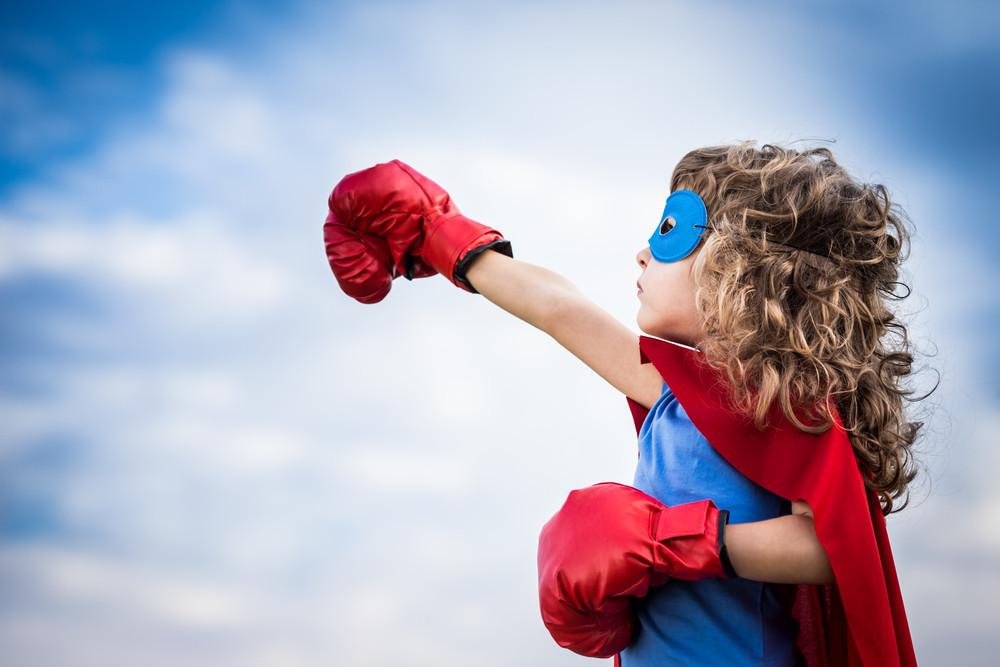 Ребенок - супергерой