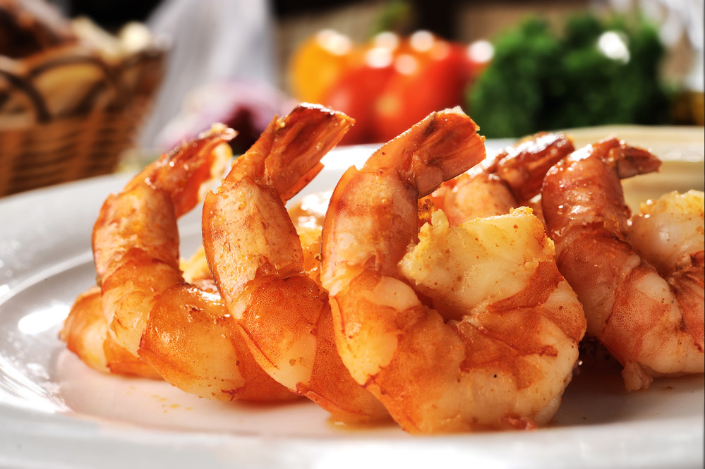 креветки блюдо
