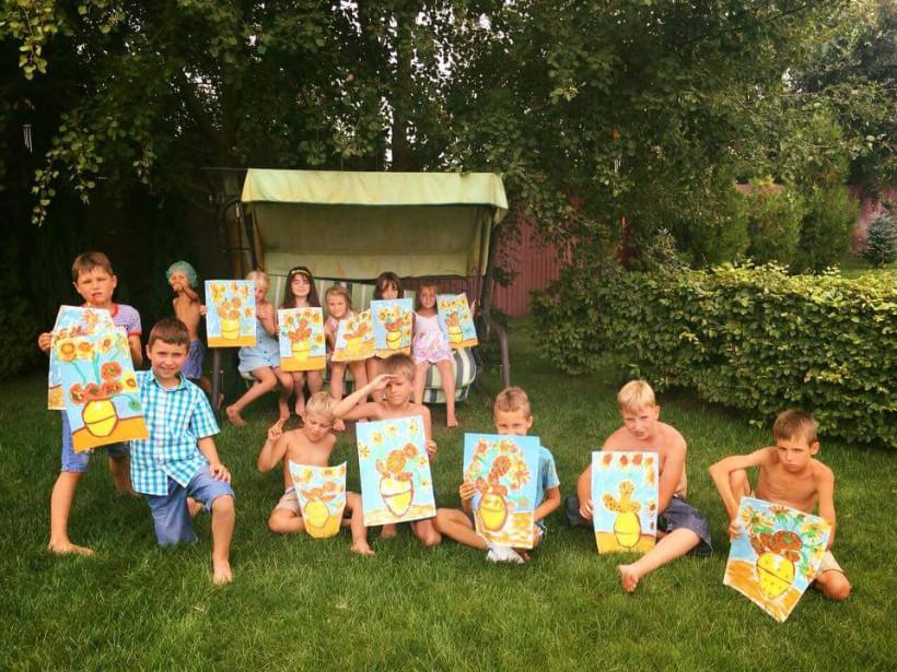 Дети на воздухе - детский лагерь в Семиполках