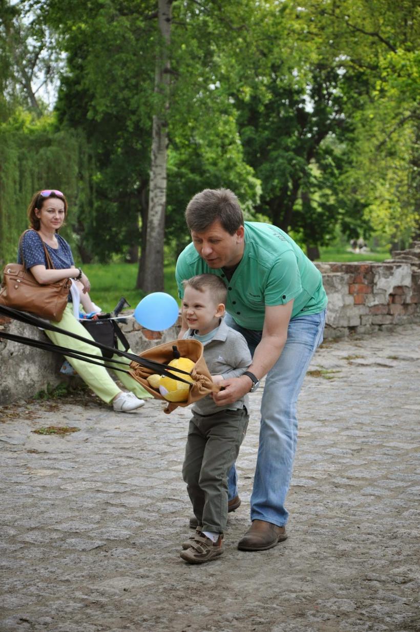Михайло з сином