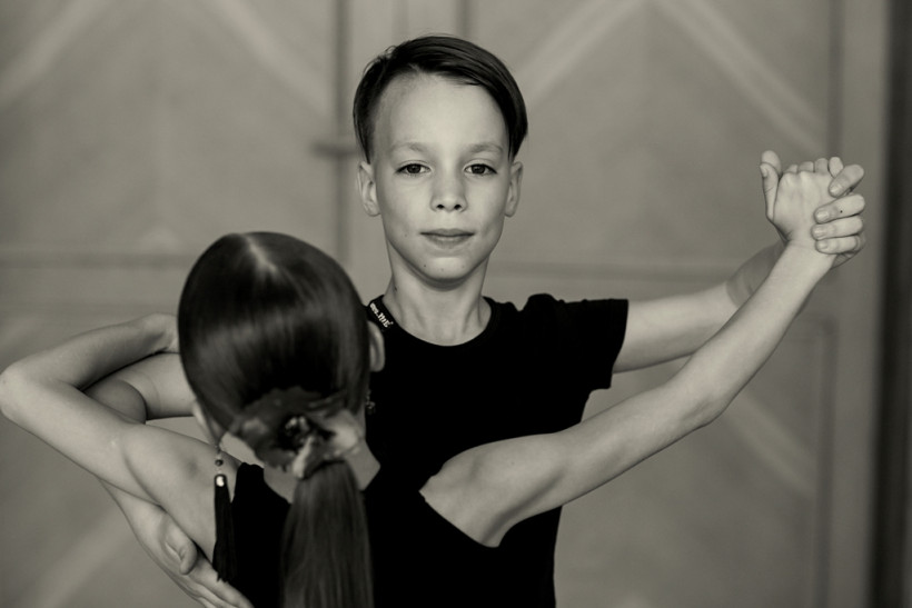 Мальчик  Илья - танцор Маленькие взрослые