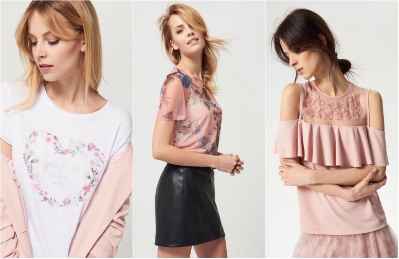 Блузы с цветочным принтом