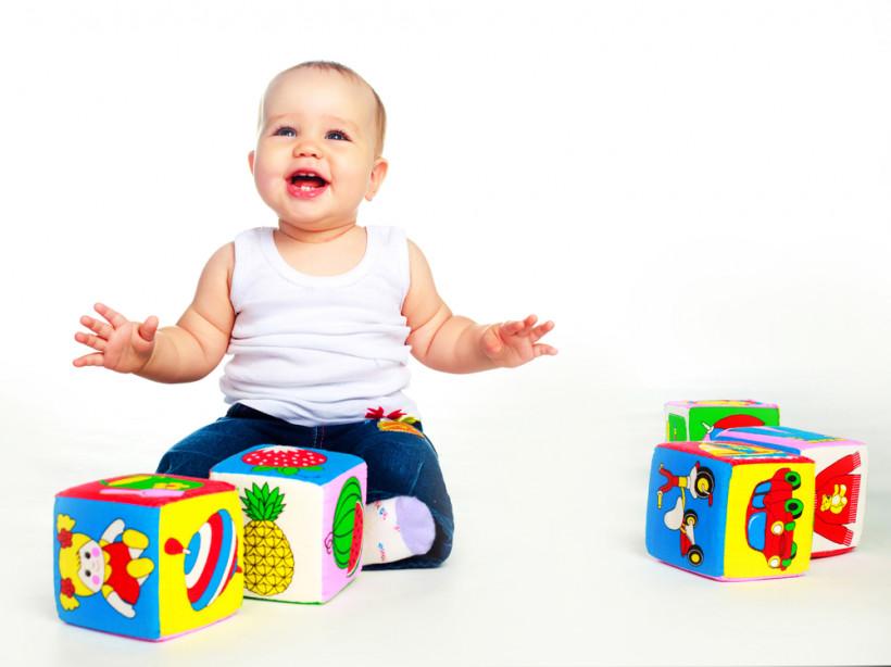 М'які кубики для дитини до року