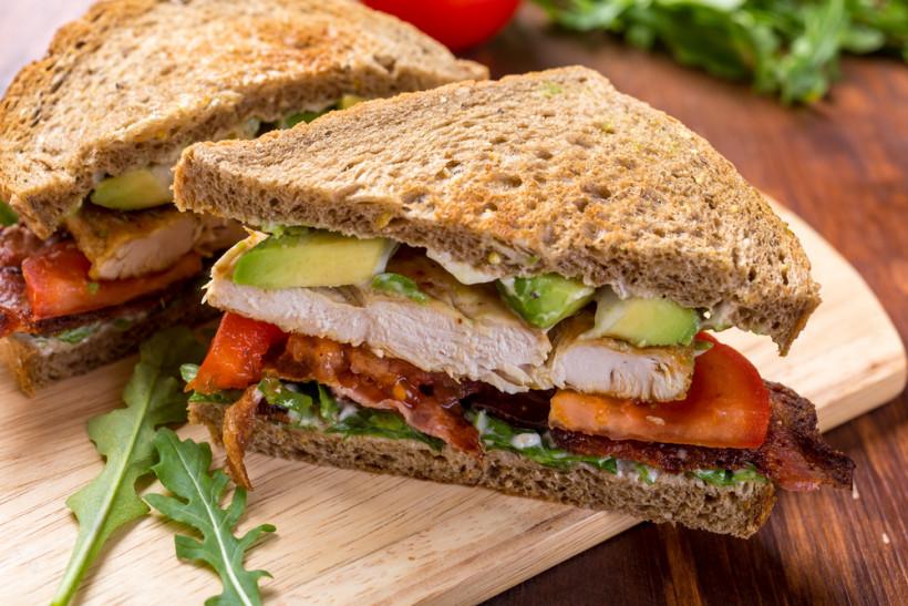 Мясо в сендвиче фото 550-548