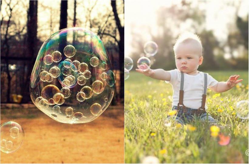 Шоу мильних бульбашок