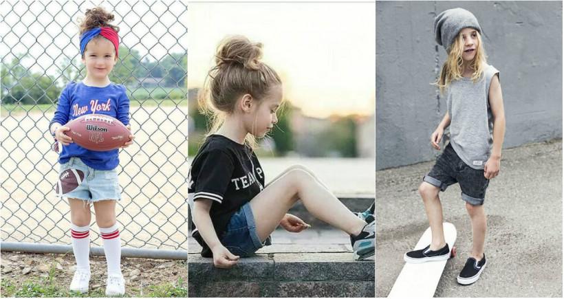 Джинсовые шорты и спортивная майка