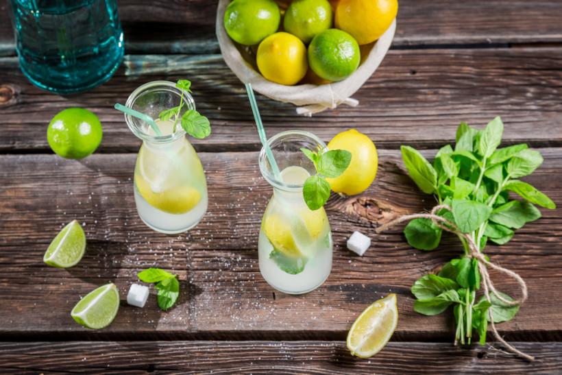 М'ятний лимонад