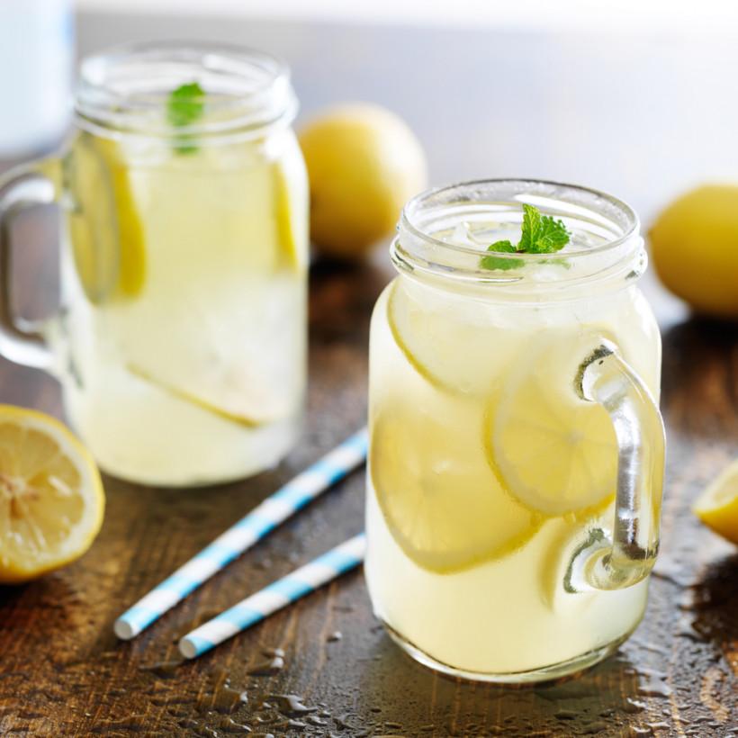 Лимонный лимонад