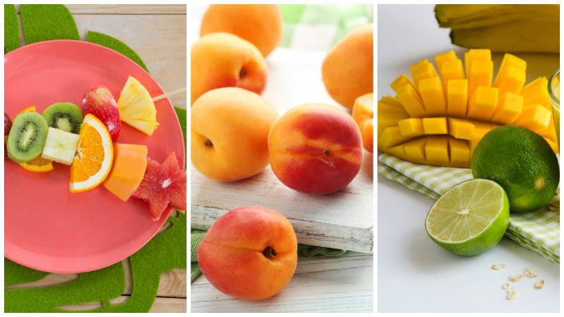 фрукты летние