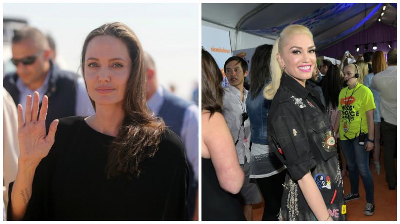 Анджеліна Джолі і Гвен Стефані