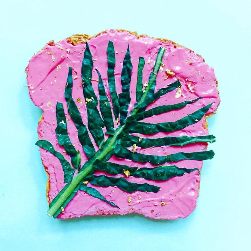 тост с капустой Кале