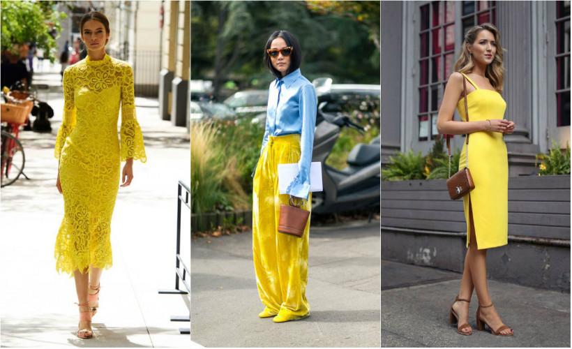Желтая одежда