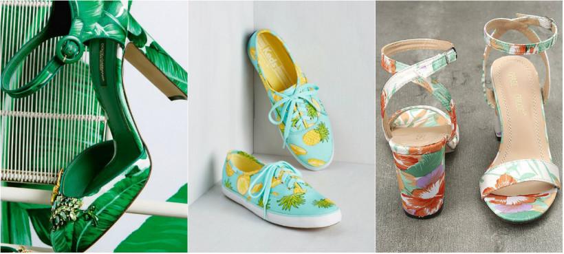 Красивая летняя обувь
