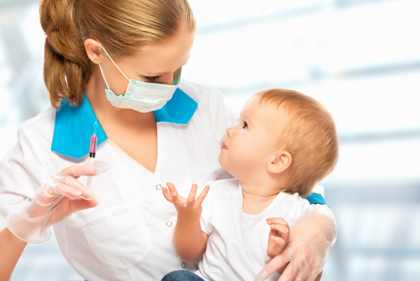 Вакцинация ребенка от кори