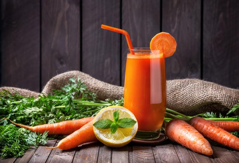 морковь смузи