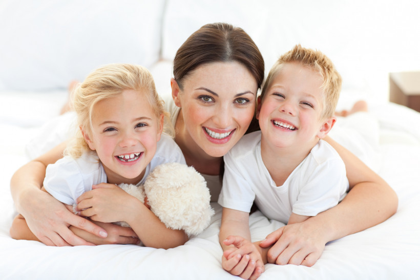 мама з дітками