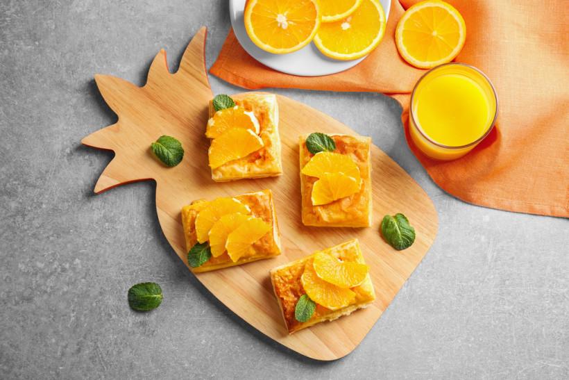 Апельсин, имбирь и иогурец