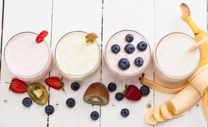 фруктовый йогурт