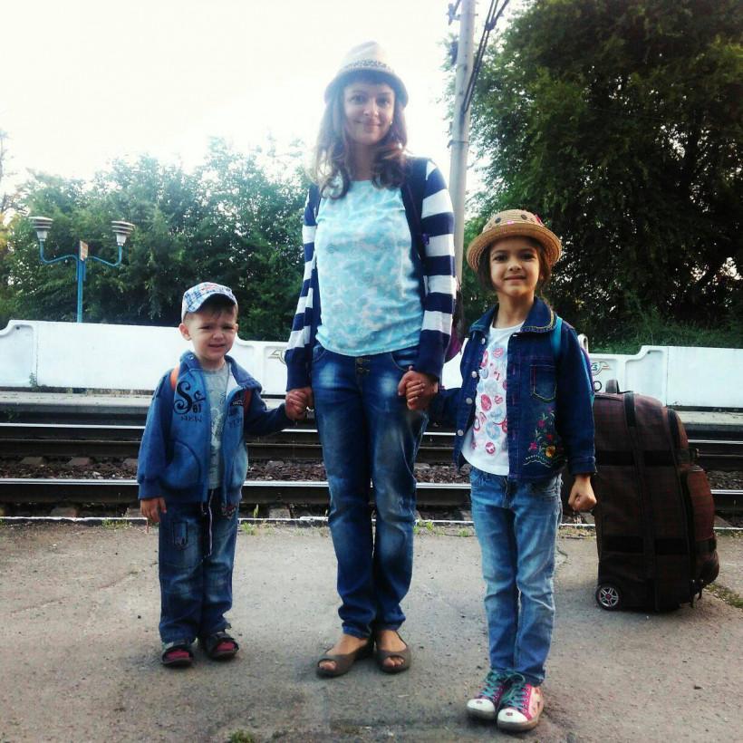 Марина Довбыш - активная мама и блогер