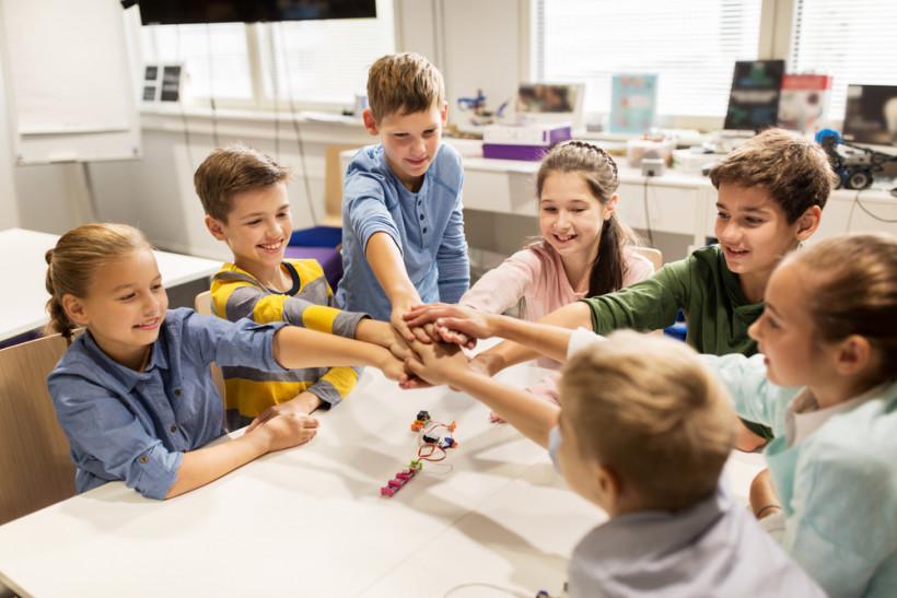 діти на курсах