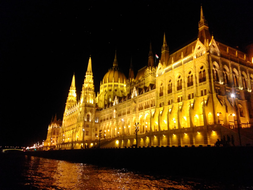 Марина Довбыш, путешествие в Венгрию