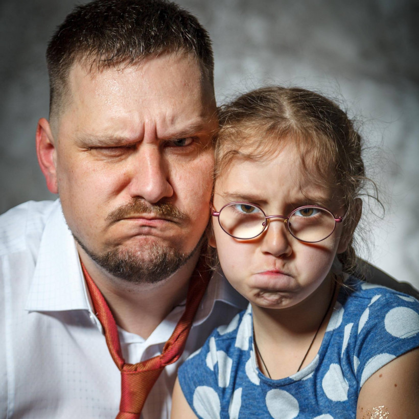 Паштет-Белянский и дочь