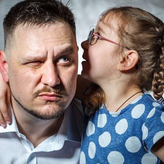 Паштет Белянский и дочь