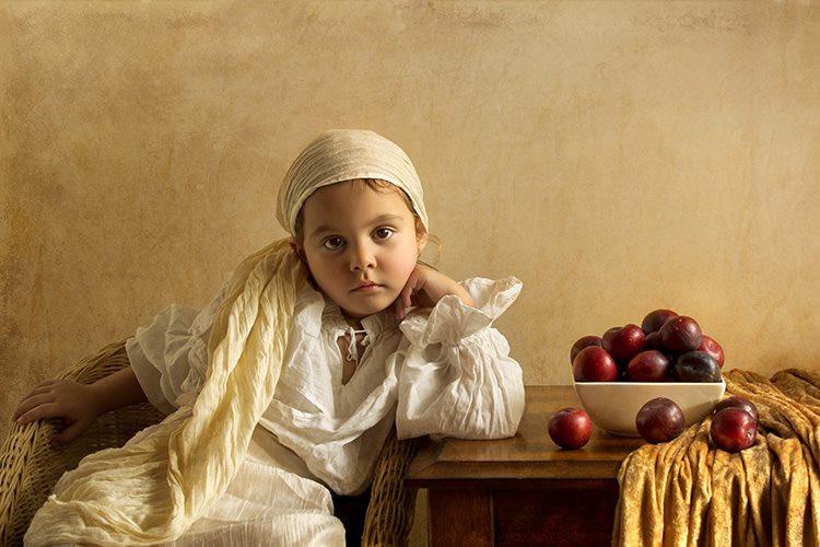 портрет девочки15