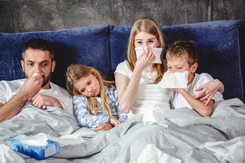 хвора родина