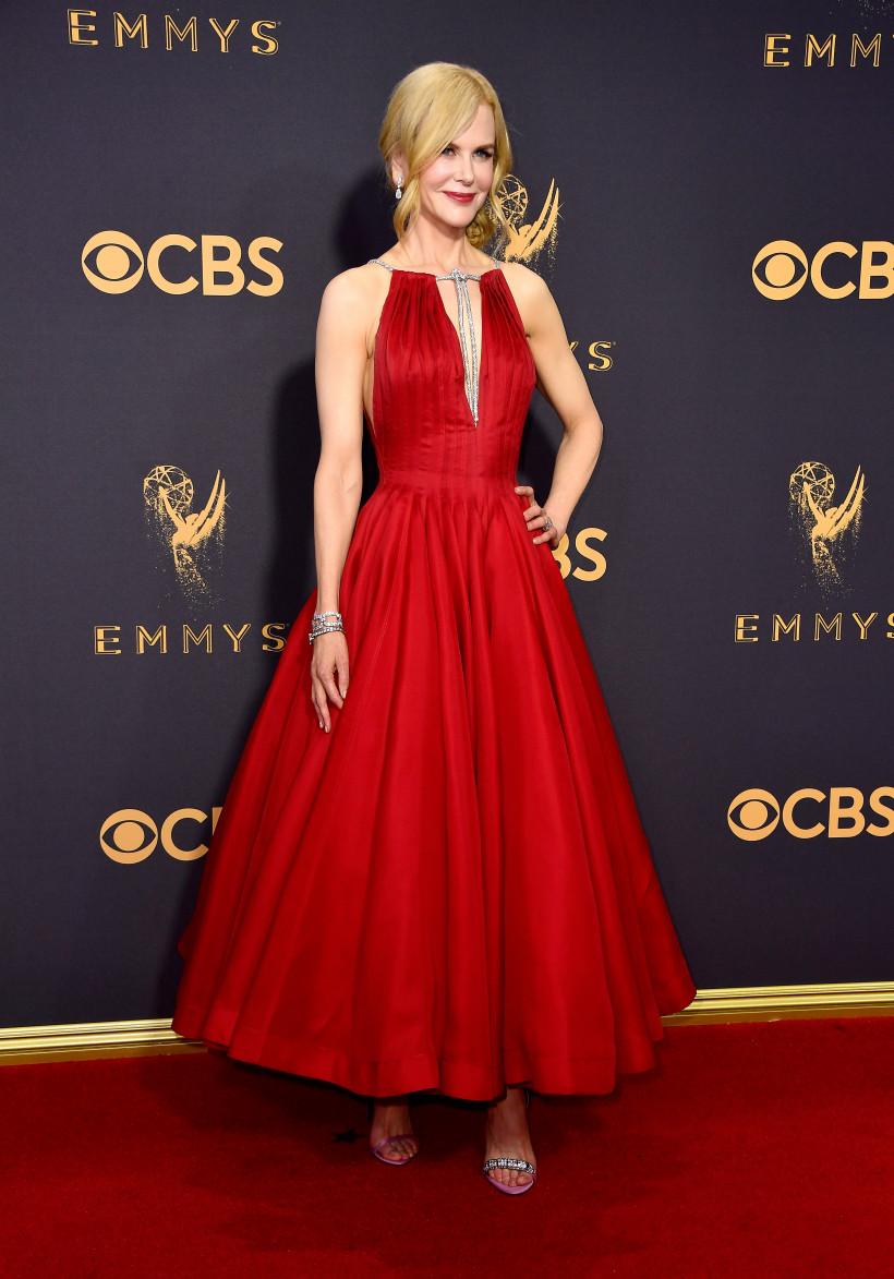 николь кидман в красном платье