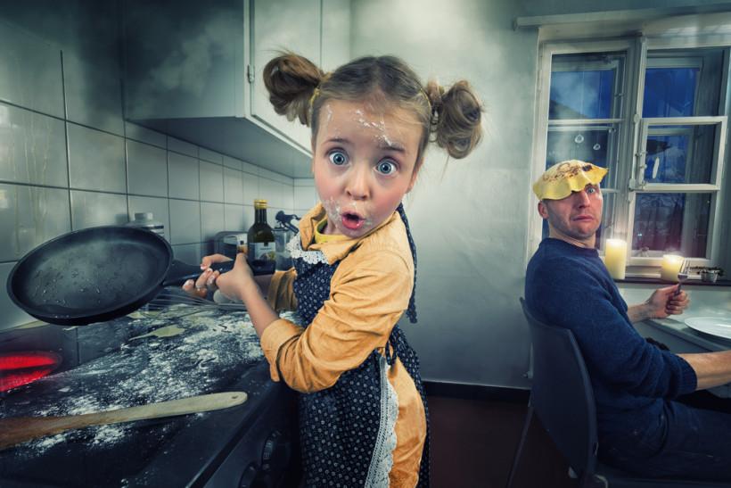 тато і донька
