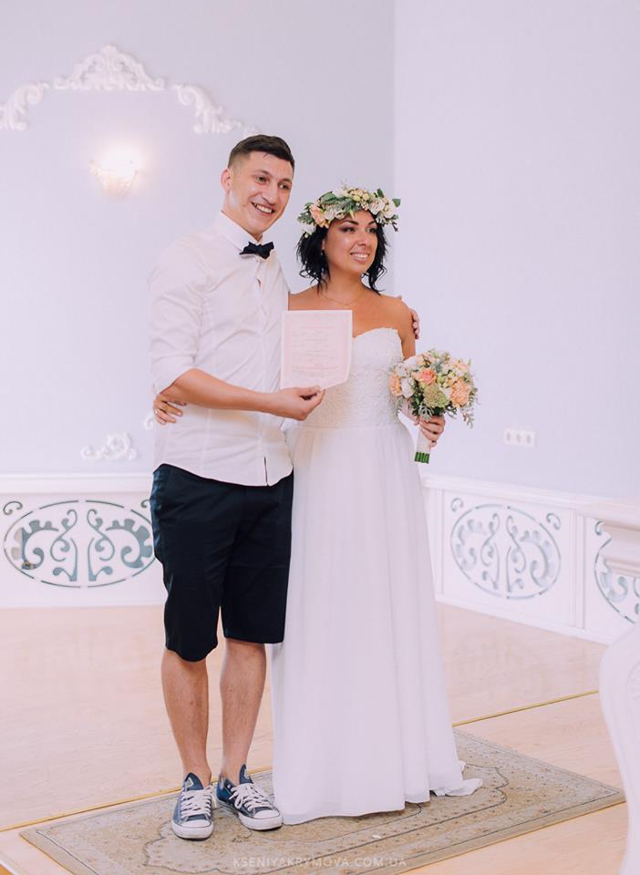 Дина Хорошилова с мужем