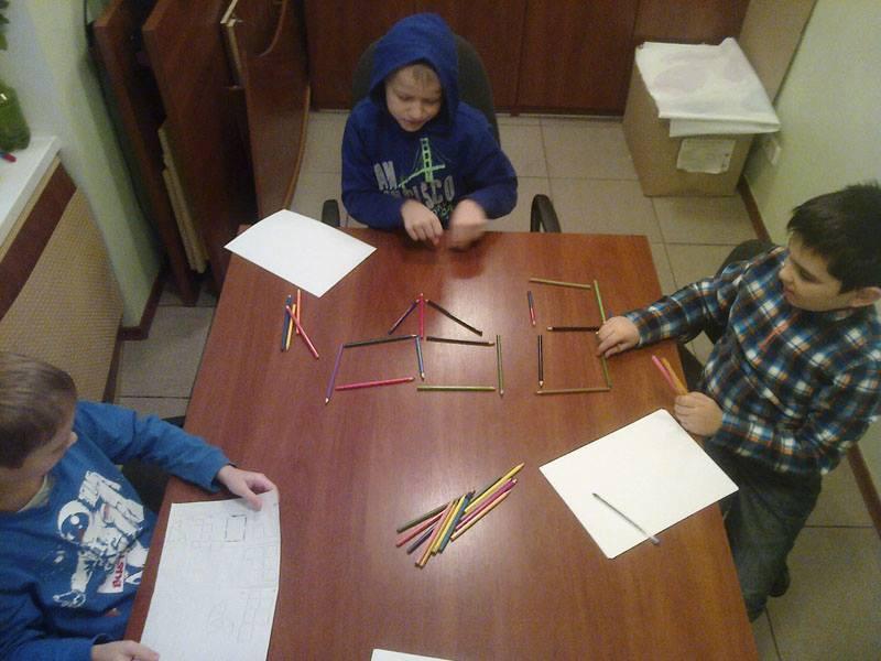Дети в Академии коммуникации