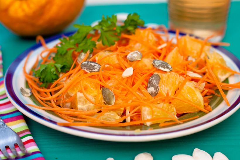Тыквенно-морковное блюдо для зрения