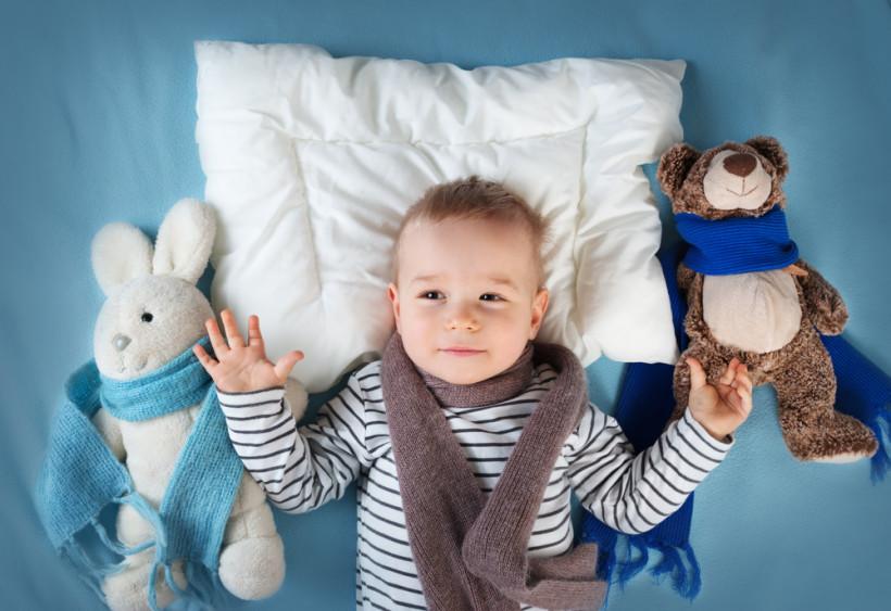 малыш болеет в кроватке