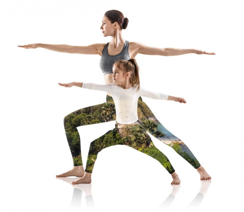 Поза героя - йога