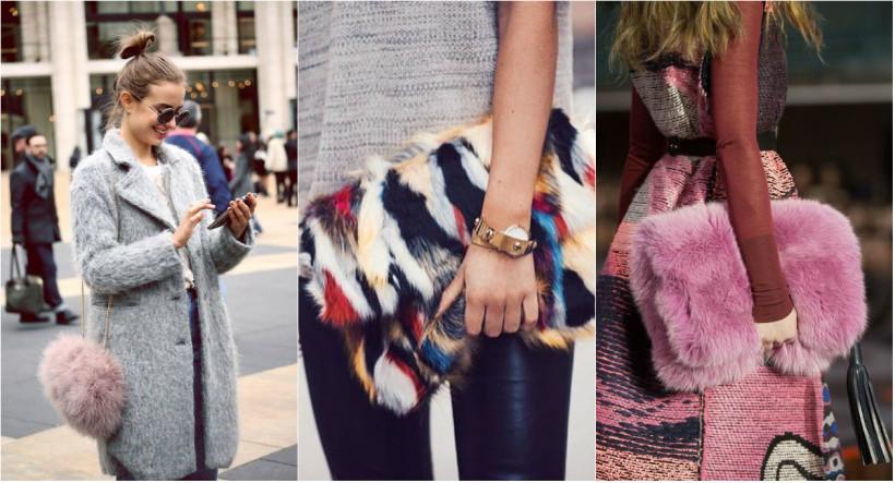 сумки из меха