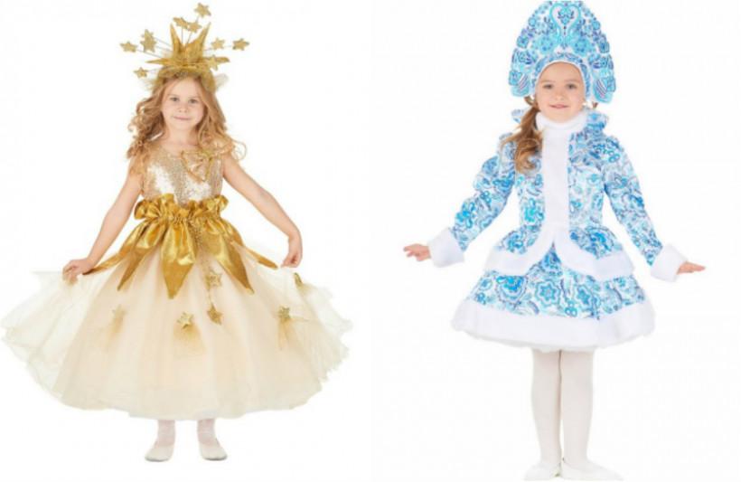 костюм снежинки и снегурки